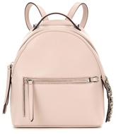 Pink Leather Backpack - ShopStyle