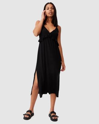 Cotton On Woven Max Strappy Midi Dress