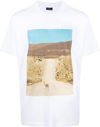 Marcelo Burlon County of Milan road print T-shirt