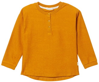 Miles Baby Long Sleeve Knit Henley
