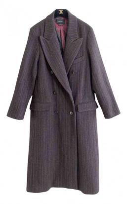 Isabel Marant Burgundy Wool Coats