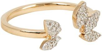 Adina Pave Diamond Cluster Ring