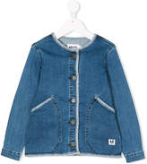 Molo collarless denim jacket