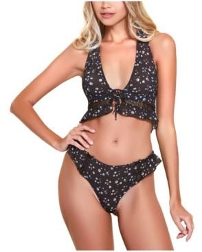 Hauty Halter Bralette and Underwear 2pc Set, Online Only