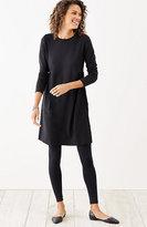 J. Jill Shirred-Waist Knit Dress