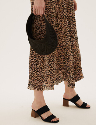 Marks and Spencer Block Heel Mules