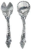 Arthur Court Pair of Shell Salad Servers