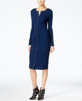 GUESS Originals Ribbed Bodycon Dress