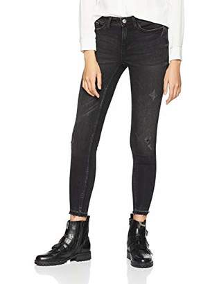 JDY Women's JDYSKINNY REG Jake ANKL G Jeans DNM NOOS Skinny (Dark Grey Denim)