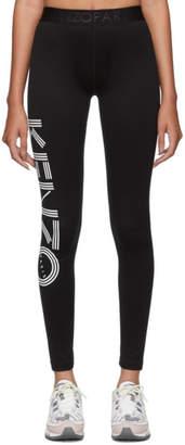 Kenzo Black Logo Sport Leggings