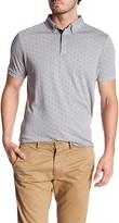 Report Collection Short Sleeve Motif Print Polo