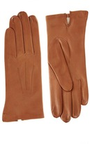 Dents Silk Lined Leather Gloves