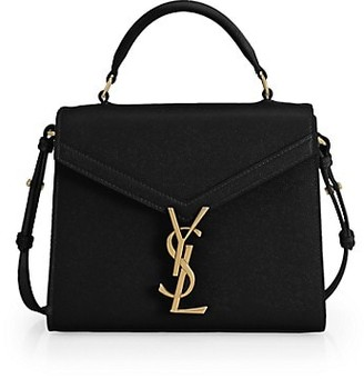 Saint Laurent Cassandra Leather Satchel