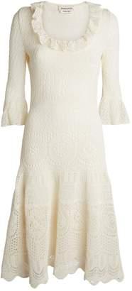 Alexander McQueen Knitted Lace Dress