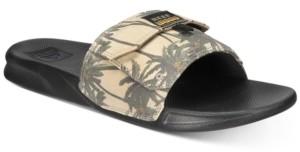 Reef Men's Tropical Stash Slide Sandals Men's Shoes