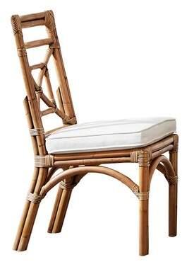 Panama Jack Sunroom Plantation Bay Upholstered Dining Chair Sunroom Color: Rave Spearmint