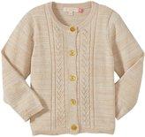 Pink Chicken Lacy Lurex Sweater (Toddler/Kid) - Cream-2 Years