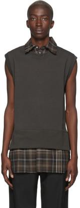 LHomme Rouge Brown Shirt Vest