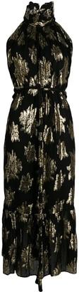 IRO Floral Print Midi Dress