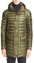 Moncler Men's 'Benjamin' Channel Quilted Down Parka