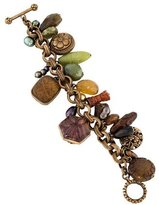 Stephen Dweck Multi Stone Charm Bracelet