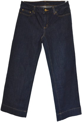 Michael Kors Navy Cotton - elasthane Jeans for Women