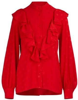 MSGM Ruffled blouse