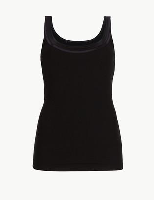 Marks and Spencer Cotton Blend Waist Cincher Vest