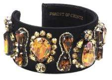 Forest of Chintz Vintage Crystal Cuff