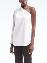 Banana Republic Easy Care One-Shoulder Top