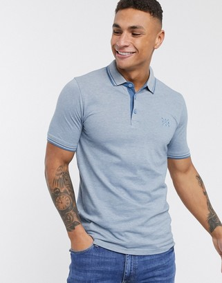 ONLY & SONS slim fit polo-Grey