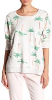 Chaser Fleece Palm Tree Sweatshirt