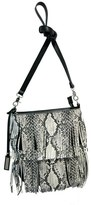 Urban Originals 'Burning Up' Fringe Convertible Crossbody Bag - Black
