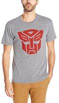 Goodie Two Sleeves Men's Transformers Autobot Logo T-Shirt