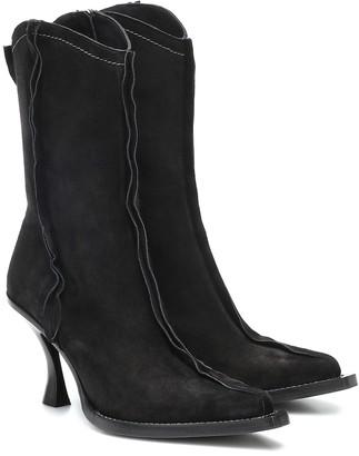 Acne Studios Suede cowboy boots