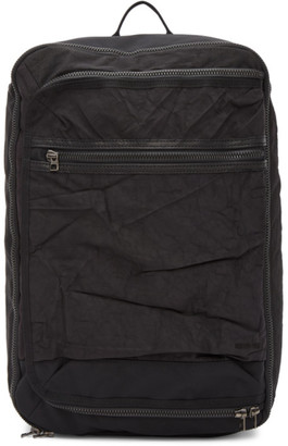 Master-piece Co Black Rebirth Project Edition Recycled Airbag Backpack