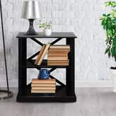 Andover Mills Stronghurst Etagere Bookcase Finish: Black