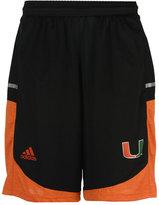 adidas Men's Miami Hurricanes Player Shorts