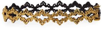 Armenta Old World Open Scroll Huggie Bracelet