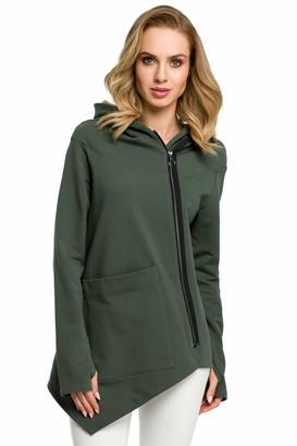 Moe   Made Of Emotion MOE - made of emotion Sweatshirt - Military Green 42 | XL