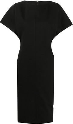 Rick Owens Fitted Shift Dress