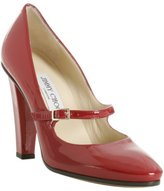 red patent leather 'Kindlepa' mary jane pumps