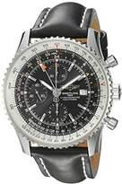 Breitling Men's A2432212/B726BKLT Black Dial Navitimer World Watch by