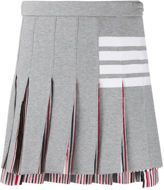 Thom Browne 4-Bar pleated skirt