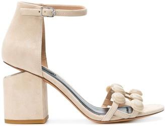 Alexander Wang Abby Dome Stud sandals
