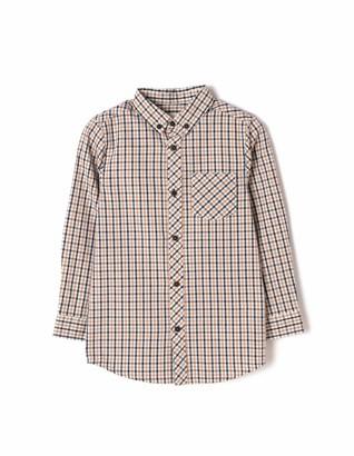 ZIPPY Boy's Camisa Ajedrez Rio Formal Shirt