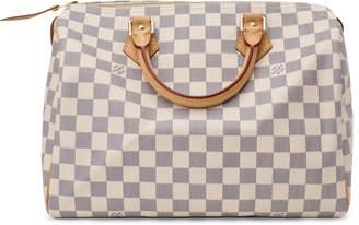 Louis Vuitton Speedy Damier Azur (Without Accessories) 30 White/Blue