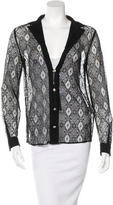 Versus Lace Long Sleeve Top w/ Tags