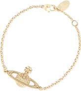 Vivienne Westwood Bas relief diamanté orb bracelet