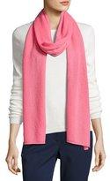 Michael Kors Cashmere-Blend Scarf, Pink